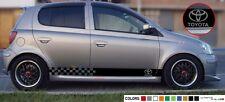 Sticker Stripe for Toyota Yaris Vitz 1998 1999 2000 2001 2002 2003 2004 2005 RS