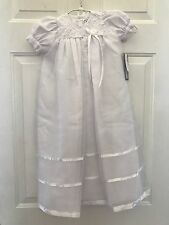 New Lito Christening Baptism Gown 2210 Size XS White Excellent Condition