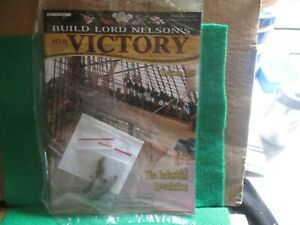 BUILD LORD NELSON`S HMS VICTORY (ISSUE 25 WITH PART) 1:84 SCALE NEW