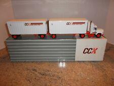 CCX Con-Way Central Express Semi Truck w/ Tandem Trailer 1:53 scale