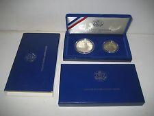 US Mint Statue of Liberty - Ellis Island 1886-1986 Commemorative Proof Coin Set