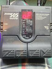ZOOM 505 GUITAR PEDAL
