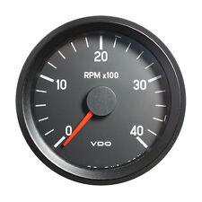 "Vdo cockpit international tachymètre gauge 4000 rpm 80mm 3.1"" 12V 333-035-002G"