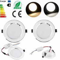 LED Panel Downlight Dimmable Recessed Ceiling Light 3W 5W 7W 9W 12W 15W 18W Lamp