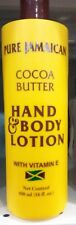 PURE JAMAICAN COCOA BUTTER LOTION ALL SKIN TYPES, UNISEX 16 oz