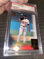 2001 Upper Deck #11 Johan Santana Psa 9 Rookie Pop 11 W Only 8 Higher!