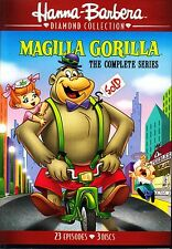 MAGILLA GORILLA THE COMPLETE SERIES R1 (2017 Edition) 3 DISCS HANNA BARBERA NEW!