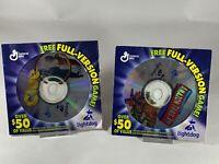 Clue  & Amazon Trail 3rd Ed CD-ROM Lightdog Full Game General Mills Windows/Mac