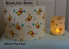Handmade Lampshade & Night Light Disney Winnie The Pooh Fabric Nursery Baby Chil