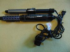 "Conair Instant Heat Styling Brush, 3/4-inch & 1"" Hot Air Curling Brush"