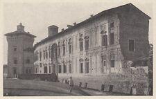 D7169 Scandiano - La Rocca dei Boiardo - Stampa d'epoca - 1920 vintage print