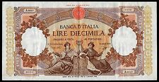 Italy 10000 Lire * VF/XF * 89d  Money Bill Currency Banknote