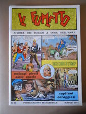 IL FUMETTO Rivista fumetti ANAF n°14 1974 BONVI Nick Carter Sturmtr [G757] BUONO