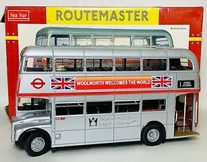Sun Star Limited Edition Routemaster London Bus - 1:24 Scale