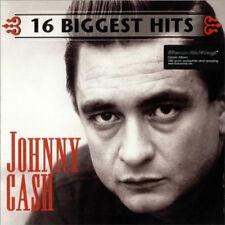 JOHNNY CASH 16 BIGGEST HITS LP VINYL 33RPM NEW