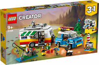 31108 LEGO Creator Caravan Family Holiday 3-in-1 Camping Set 766 Pieces Age 9+