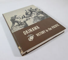 1955 Okinawa Victory in the Pacific Chas Nichols & Henry Shaw USMC Fold Out Maps