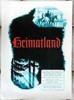 Filmplakat Heimatland (UFA) Hansi Knoteck Wolf Albach-Retty 1939