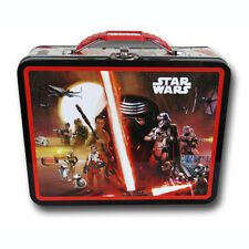 Star Wars The Force Awakens Kylo Ren Tin Lunch Box Carry All Case Collectible BK