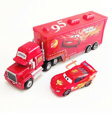 Disney Pixar Cars Lightning McQueen & MACK Mack Superliner Truck 2-Pack Toy