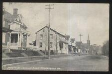1910s POSTCARD MEYERSDALE PA/PENNSYLVANIA NORTH ST FAMILY HOMES HOUSES