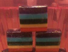 Rainbow soap 170g homemade gift birthday valentines anniversary