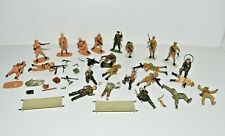 Vintage AIRFIX Model soldiers British German Desert Russian infantry 1:32
