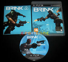 BRINK Ps3 Versione Ufficiale Italiana 1ª Edizione ••••• COMPLETO