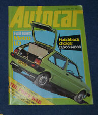 April Autocar Transportation Magazines