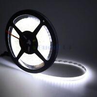 16.4FT 5M Cool White Flexible LED Rope Lights SMD 2835 600 LED DC12V 8mm