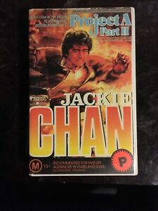 PROJECT A: PART II VHS JACKIE CHAN SUPER RARE!! (EX-RENTAL) KUNG-FU