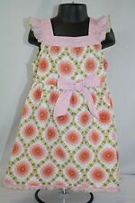 Baby Lulu Toddler Girl's 3T Vintage Style Floral Cotton Dress Boutique