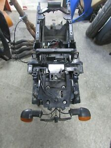 Yamaha FZ1 S subframe sub frame 2006 2007 + evotech tail tidy & indicators