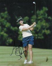 Angela Stanford signiert * LpGA * Damen Golf 8X10 Foto mit COA * USA * Solheim Cup #3