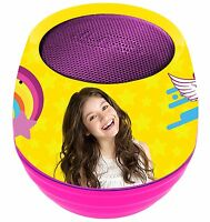 Soy Luna Disney Mini Speaker Bluetooth 3W With 6 Light Effects Toy Girl Original