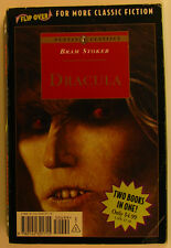 #BA, Mary Wollstonecraft Shelley;Bram Stoker FRANKENSTEIN / DRACULA FLIP BOOK...