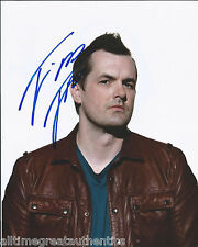 COMEDIAN JIM JEFFERIES HAND SIGNED AUTHENTIC LEGIT STAND UP 8X10 PHOTO 8 w/COA