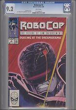 Robocop #3 CGC 9.2 Marvel 1990 Movie Comic