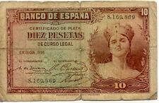 ESPAGNE SPAIN ESPANA 10 Pts 1935 état voir scan 869
