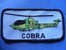 cobra helicopter patch