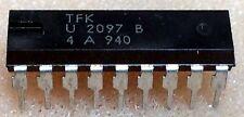 1 pc. U2097B   TFK  Bar-Graph Display Driver  DIP18  NOS
