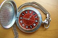 MOLNIJA Soviet USSR POCKET WATCH Anniversary of 40 years of Victory in the Gre
