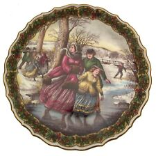 Spode The Victorian Christmas Series The Skaters CP494