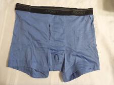 Jockey Stay Cool Cotton Mens Boxer Brief Underwear Size XL 40-42 NWOT Blue