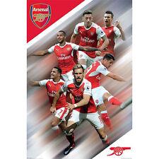 Arsenal FC - Players 2016/17 POSTER 61x91cm NEW * Premier League Soccer