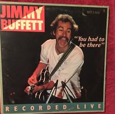 """Vintage Jimmy Buffett """"You Had To Be There"""" Live 1978 Vinyl"""