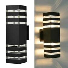 Modern Led Wall Light Up Down Indoor Outdoor Lighting Lamp Sconce Fixture Decor