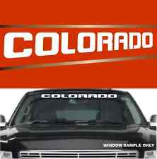 "Colorado Fun Decal  Windshield Banner Vinyl Lettering 40"""