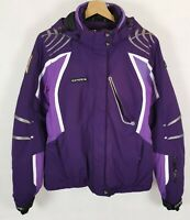 EVEREST Ski Jacket Womens Snowboarding Skiing Vintage Hooded Ladies Size 34 UK 8