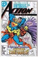 ACTION COMICS #587, NM, Superman vs Demon, John Byrne, 1938, CityScapes